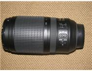 Second Hand Nikon Zoom Lens Nikon Lens AF- S - 70 300mm Camera (Digital SLR) in Camera Digital & Video Mpumalanga White River - South Africa