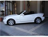 2003 Mercedes-Benz SLK 200 Kompressor New-Spec