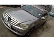 2008 Mercedes Benz C220 CDi auto/manual grey color