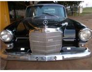 VINTAGE MERCEDES BENZ 230 FINTAIL 1966 R75000.00