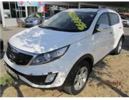 IMMACULATE DIESEL KIA SPORTAGE WITH LOW KM S FULL MOTOR PLAN