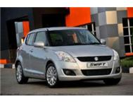 2013 SUZUKI SWIFT 1.4 SE MANUAL5 DOOR R 10 000.00 CASH BACK