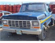 Ford F250 4x4 straight six 1976