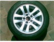Bbs Oem Bmw 16 inch mags with run flats! give away