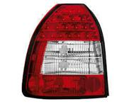 HONDA civic crystal red tailamps brand new 0823970501