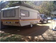 Wilk Topaz caravan 4 bed. Good cond...