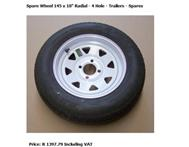 3X Venter Trailer 10 inch wheels