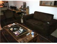 BARGAIN Suede Lounge Suite Couches must go asap