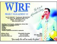WJRF Project Management Building Contractors in Building & Renovation Limpopo Polokwane - South Africa