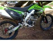 2008 Kawasaki KX250F - for sale