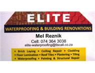 Elite Waterproofing Professional service @ the right price!!