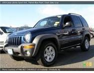 2002 Jeep cherokee 3.7 limited A/T