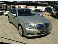 2010 MERCEDES BENZ E-CLASS E200 CGI BLUE EFFICIENCY AUTO