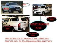 special offer on opel corsa utility and corsa utility sport new body parts