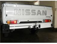 Tow bars - Bumper replacements for bakkies (LCV)