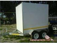 Insulated bakkie trailer to hire