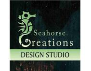 Logo redraws @ Seahorse Creations Graphic Design Studio