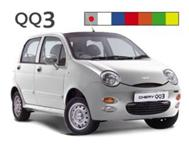 Chery QQ3 For R399 per month