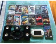2 x Sony PSP s with Docking station and 13 games