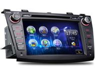 Mazda 3 DVD navigation Bluetooth IPOD USB SD Card Radio