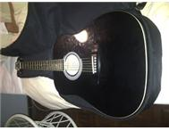 URGENT two available guitars for sale 1 acoustic nd 1 electric
