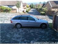 2002 MERCEDES-BENZ C-CLASS C240 Estate Auto