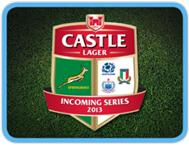 Castle Lager Series - South Africa/Scotland/Italy/Samoa
