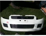2009 suzuki swift front bumper