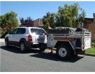 4 x 4 trailer to swop for caravan @R20000
