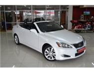 2010 Lexus IS 250 Convertible Auto