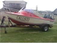 Deep sea boat to sell or swap