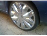 18 Chrome Fusion Rims & Tyres