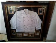SA Rugby Team Signed Chefs Jacket