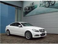 2013 MERCEDES-BENZ C CLASS C 180 Coupe BE A/T