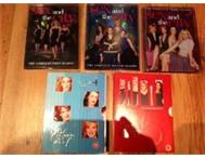 S x and the City Seasons One to Five on DVD