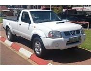 Drive and own a demo Nissan NP300 Hardbody 2000i from R 2222 p/m