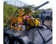 COMPLETE BOREHOLE DRILLING RIG ON A TRAILOR