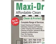 Maxdry carpet cleaning 0733592277