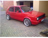VW GOLF 1300 VERY neat to swop for bike 600 cc and up !!