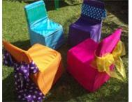 Chair Covers Chair Bows Kids Party Linen Polokwane