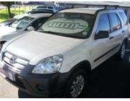 2005 Honda CRV 2.0 RVi Manual.