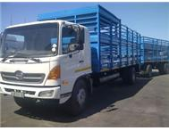 Hino 15 258 Sheep Cattle with Trailer