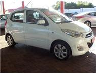 2011 HYUNDAI I10 1.1 GLS MANUAL S MOTION WHITE 48500KM R89995.00