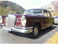 1960 Mercedes Benz 220s Fintail W11...