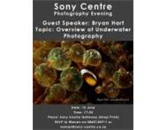 Underwater photography at Sony Centre Umhlanga KZN