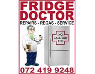 Fridge Doctor: 072 419 9248