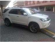TOYOTA FORTUNER 3.0D-4D RAISED BODY@KENTMOTORS DURBAN