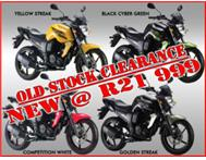 Yamaha FZS 125/150 New Clearance