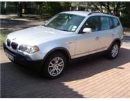 2005 BMW X3 2.5 6 Speed Manual