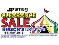 Big smeg tent sale at hirsch fourways